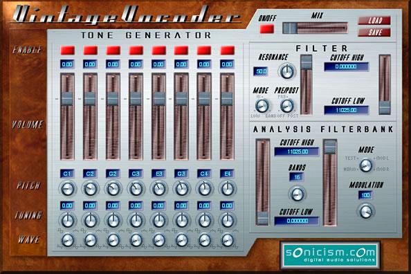 Sonicism Vintage Vocoder