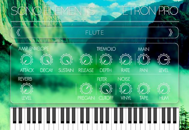KVR: Sono Elements releases eTron Pro - Mellotron Plugin