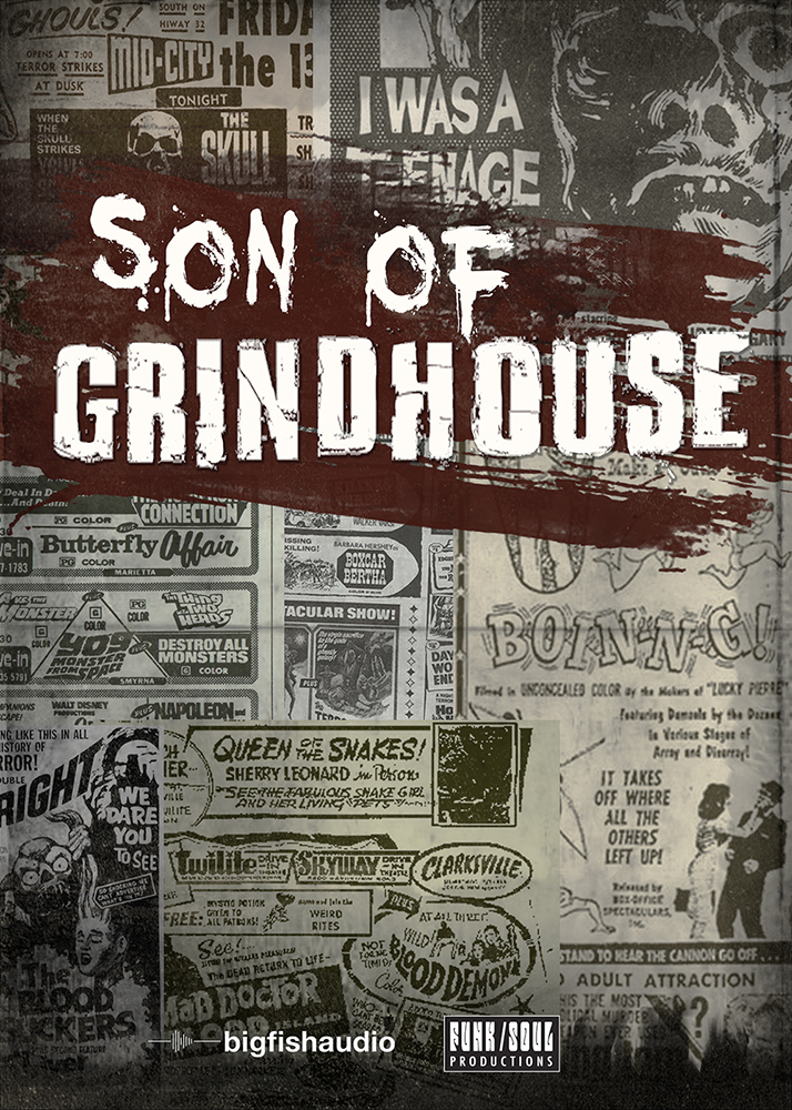 Big Fish Audio releases Son Of Grindhouse sample library