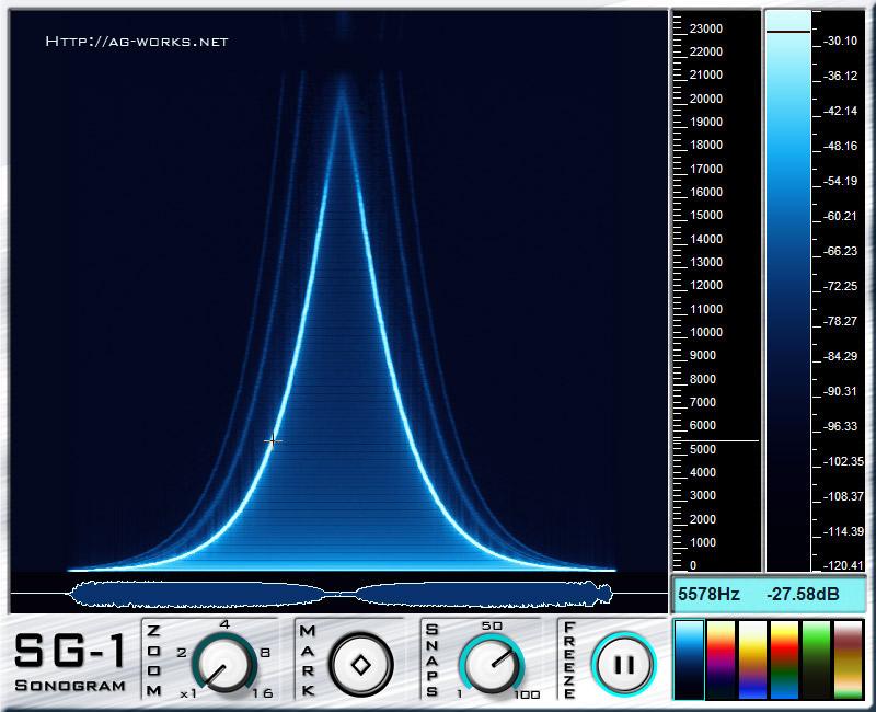 KVR: Sonogram SG-1 by ag-works - Analyser / Monitor VST Plugin