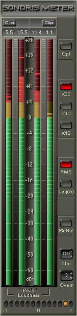 Sonoris Meter