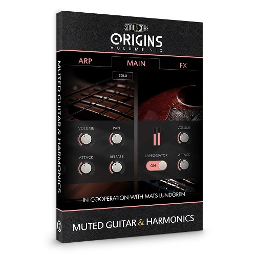 Origins Series Vol 6 Muted Guitar and Harmonics