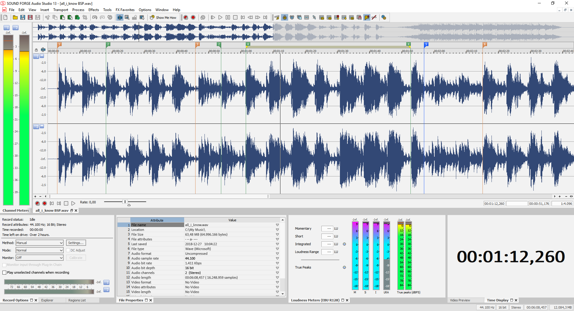 KVR: MAGIX Software releases Sound Forge Audio Studio 13 for