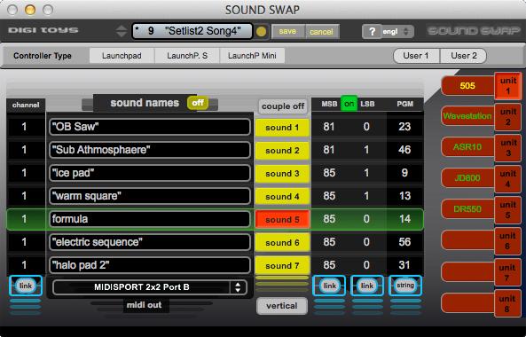 Sound Swap