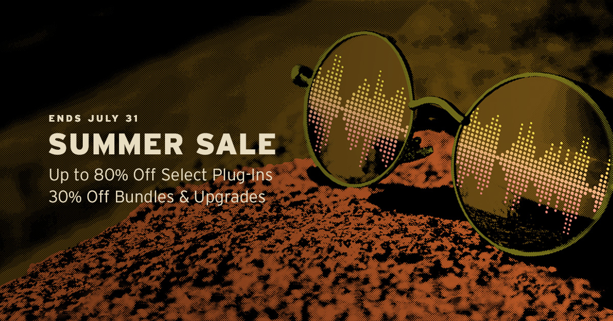 KVR: #KVRDeal Soundtoys Summer Sale - Up to 80% off Plug-ins and 30