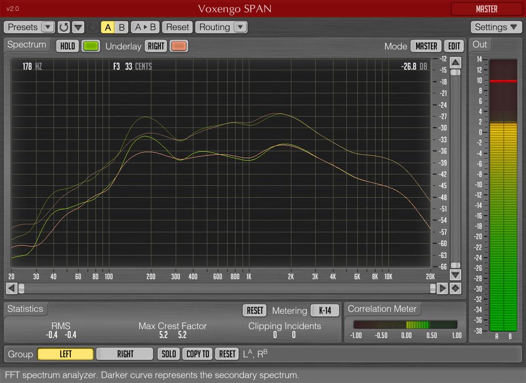 KVR: Voxengo releases SPAN FFT Spectrum Analyzer v2 0 (incl