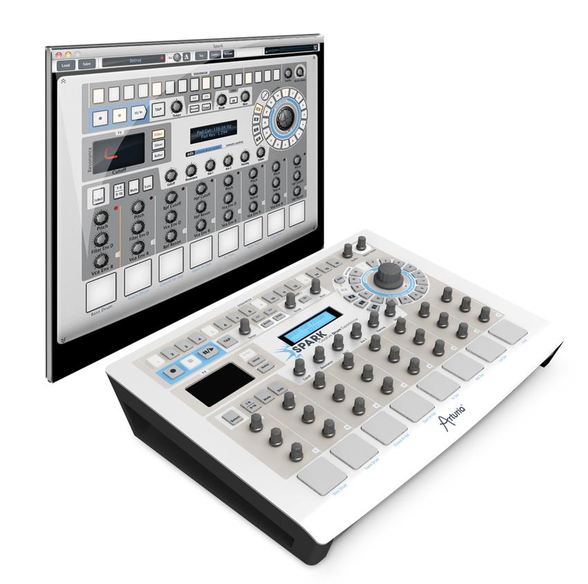 Arturia updates Spark Creative Drum Machine to v1.7