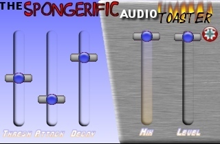 Spongerific Audio Toaster