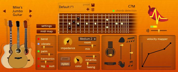 kvr spicy guitar by keolab guitar vst plugin and audio units plugin. Black Bedroom Furniture Sets. Home Design Ideas