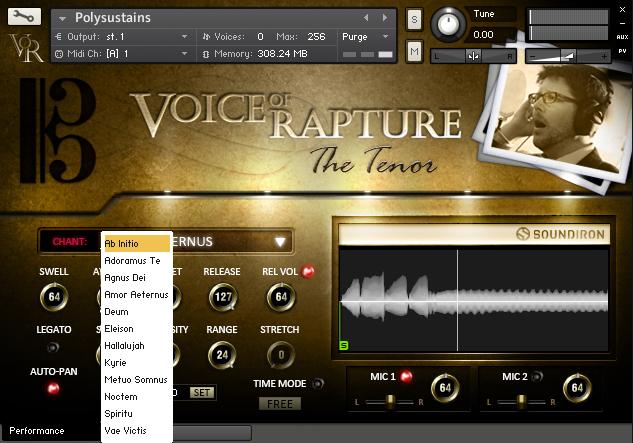 Voice of Rapture: The Tenor