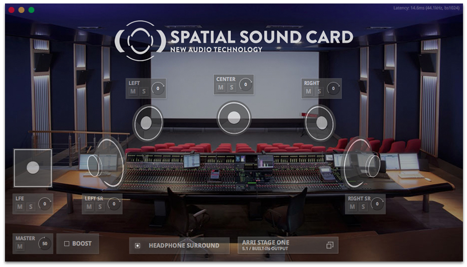 Spatial Sound Card App