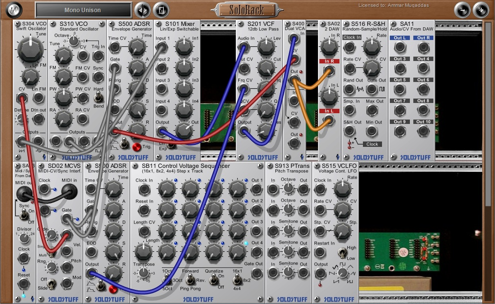 KVR: SoloRack by SoloStuff - Synth (Modular) VST Plugin