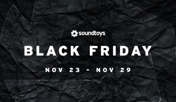Soundtoys Black Friday Sale 50 65 Off