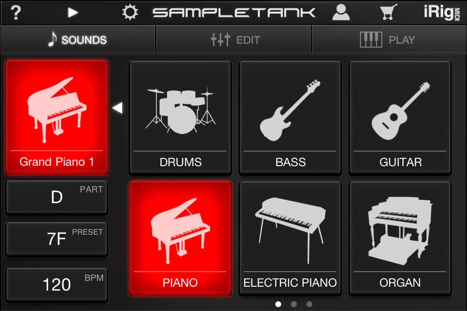 SampleTank for iPhone/iPod touch