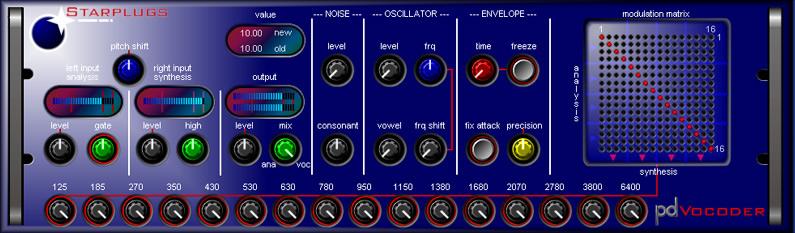 Starplugs Vocoder
