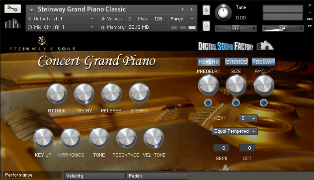 KVR: Digital Sound Factory releases Steinway and Yamaha Grand Pianos