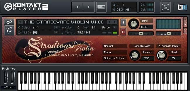 KVR: Stradivari Solo Violin by Garritan - Strings