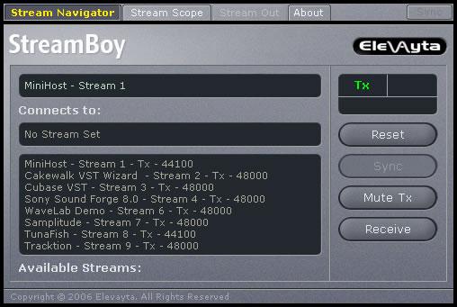 Stream Boy
