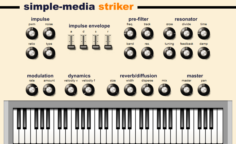 KVR: Striker by Simple-Media - Percussion VST Plugin