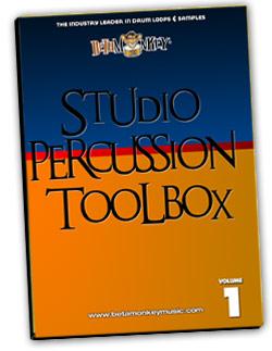 Studio Percussion Toolbox | Percussion loops