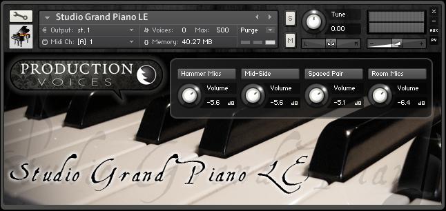 Studio Grand Piano LE