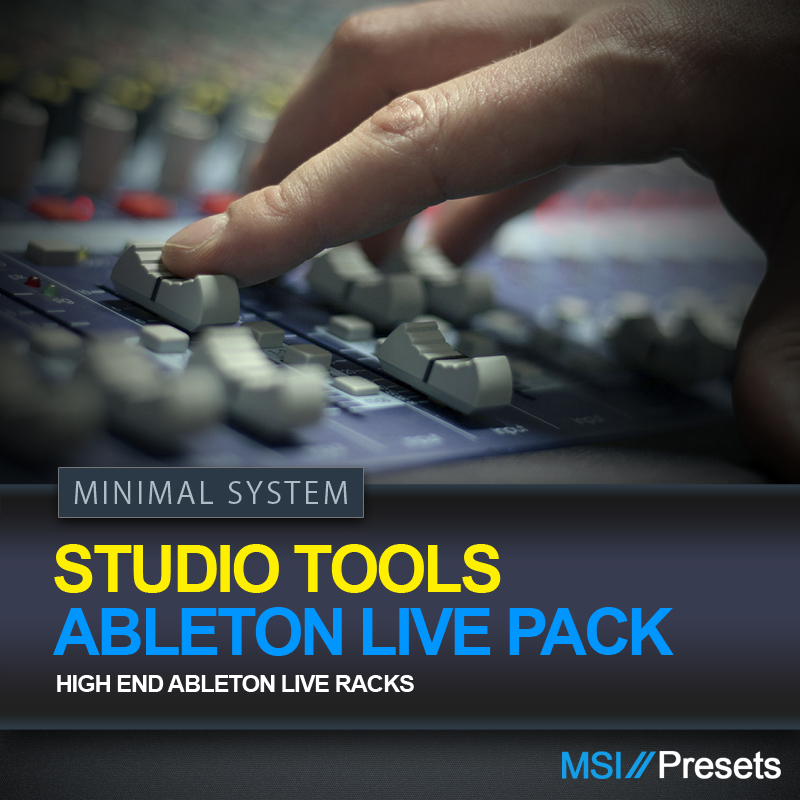 Studio Tools (Ableton Live Pack)