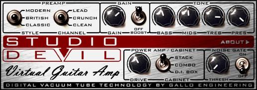 Studio Devil VGA (Virtual Guitar Amp)