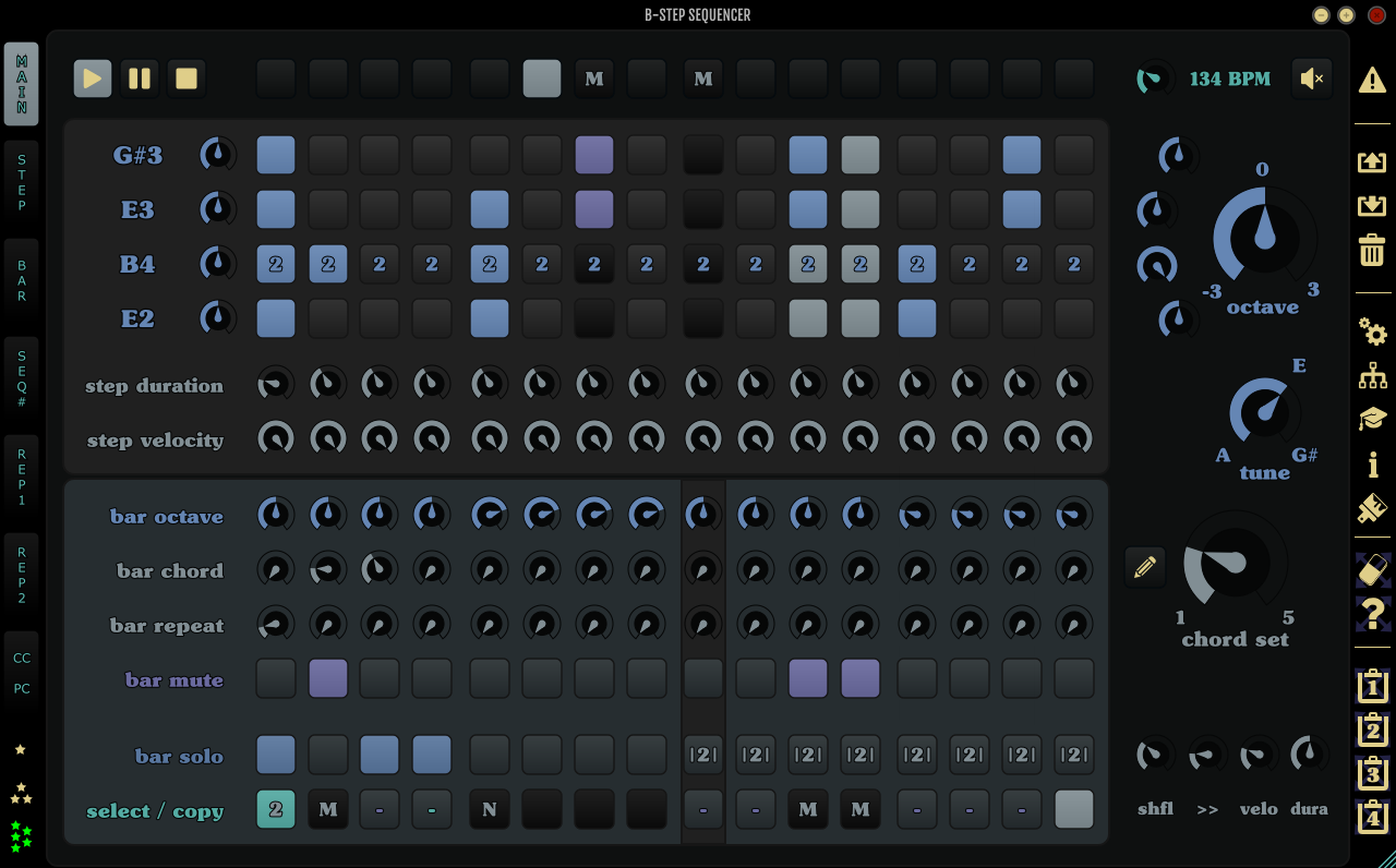 kvr  b-step sequencer by monoplugs