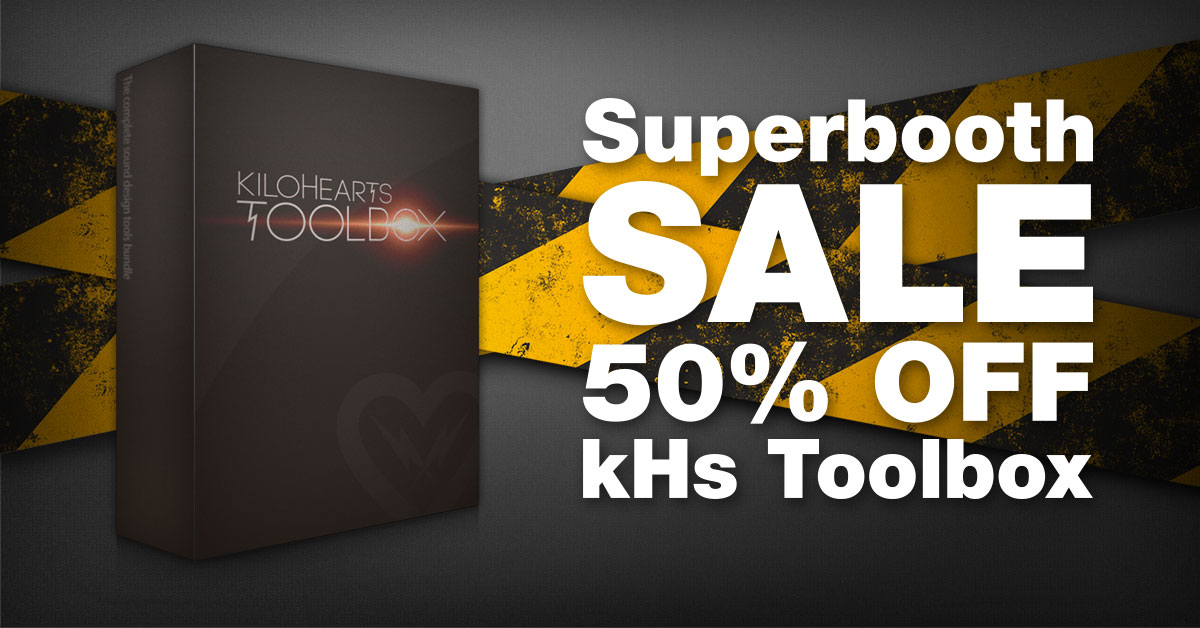 KVR: #KVRDeal Kilohearts offers 50% off the kHs Toolbox