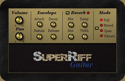 kvr superriff guitar by superriff guitar vst plugin. Black Bedroom Furniture Sets. Home Design Ideas