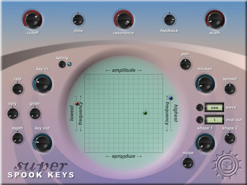 KVR: Super Spook Keys by Simple-Media - Theremin VST Plugin