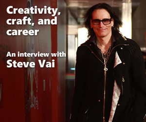 Creativity, craft, and career: An interview with Steve Vai