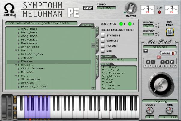 Symptohm:Melohman Performer Edition