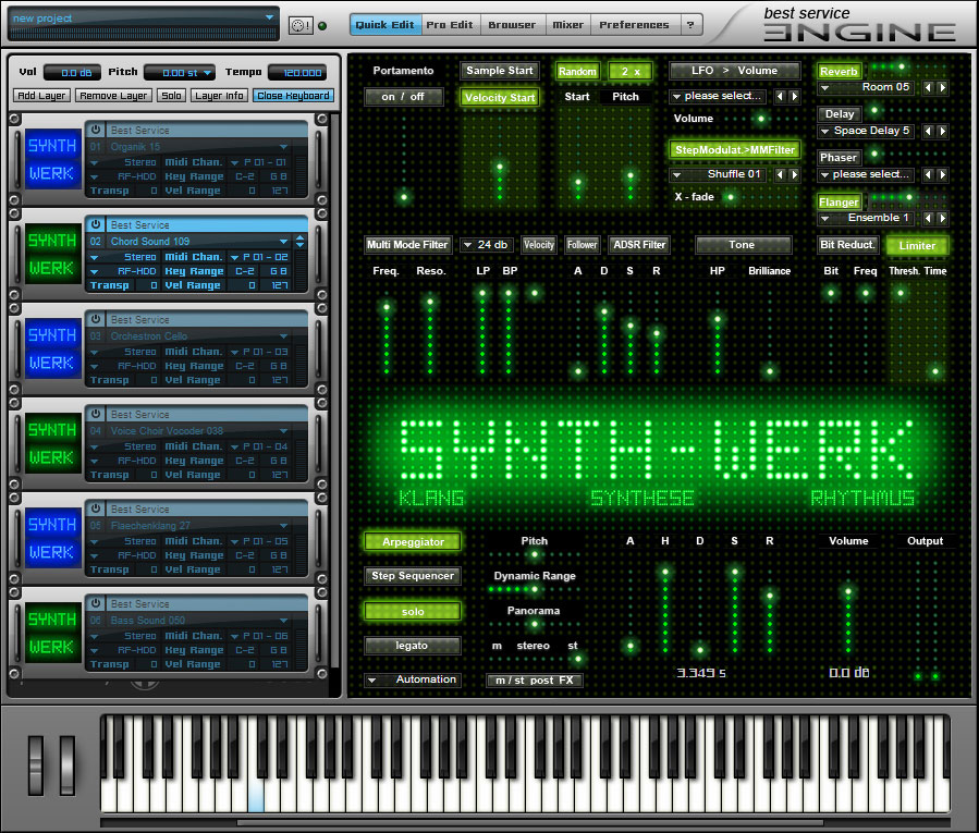 kvr  best service releases synth