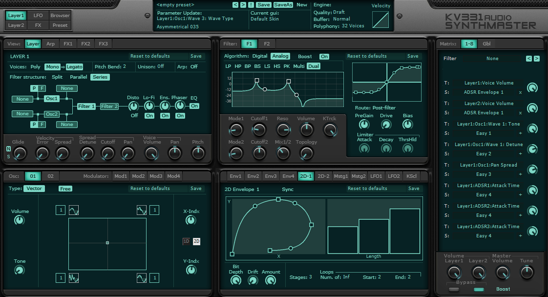 Kvr Synthmaster By Kv331 Audio Synth Semi Modular Vst