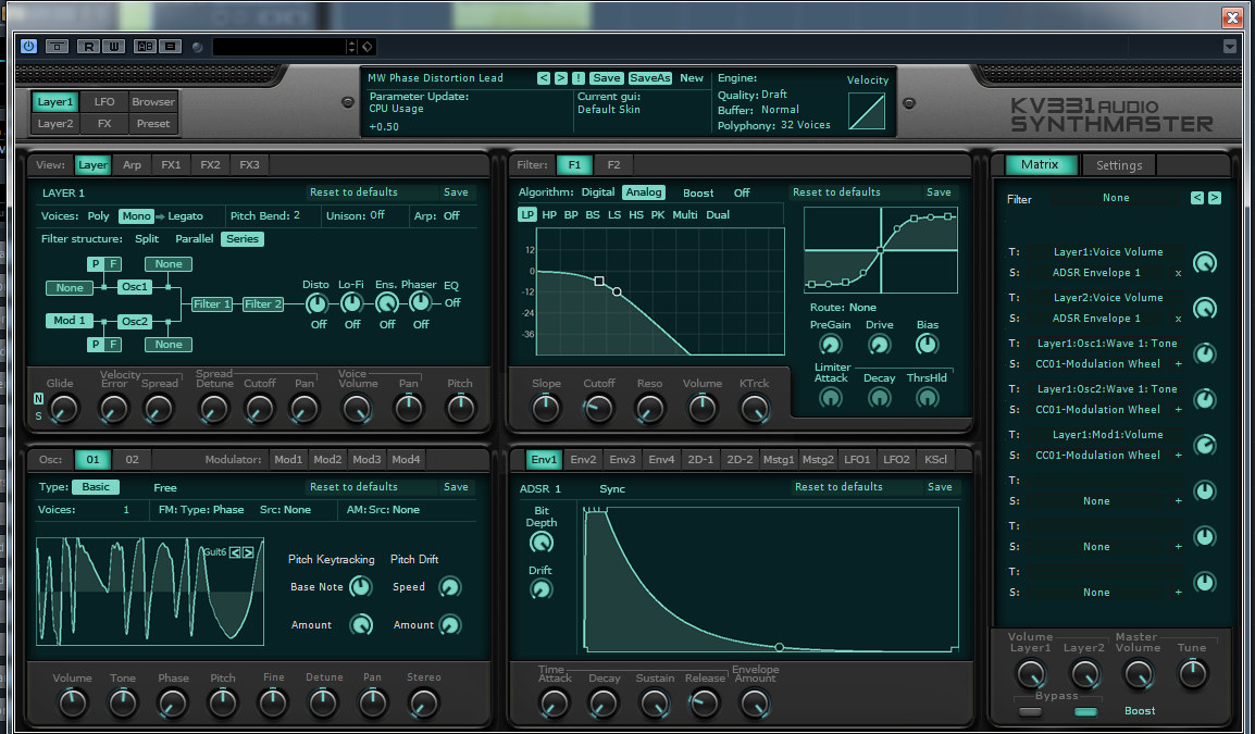 Synthmaster Sound Library
