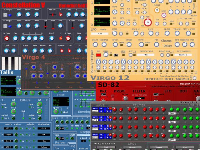 SynthStudio Pack III - Virgo Constellation