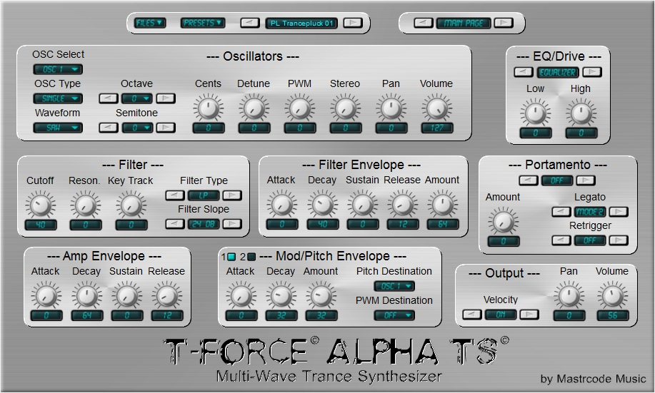 T-Force Alpha TS