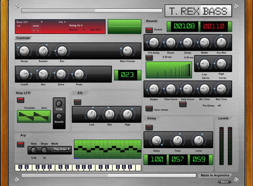 T. Rex Bass