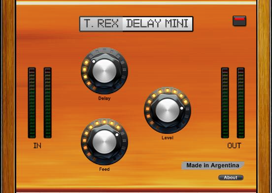 KVR: T Rex Delay Mini by Max Project - Delay VST Plugin