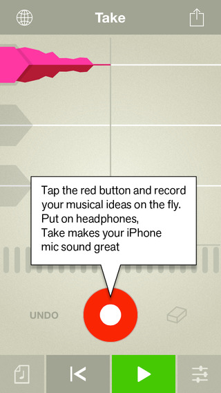 Propellerhead release Take - Free Creative Vocal Recorder for iOS