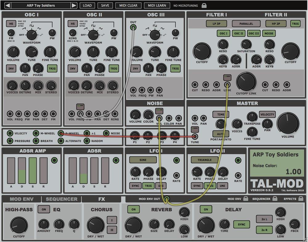 tal v2 noise