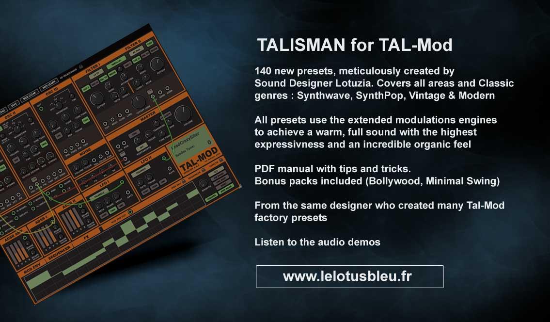 Talisman for TAL-MOd