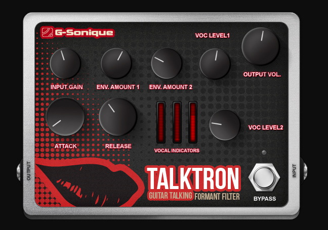 G-Sonique: Talktron - Guitar talker VST plugin