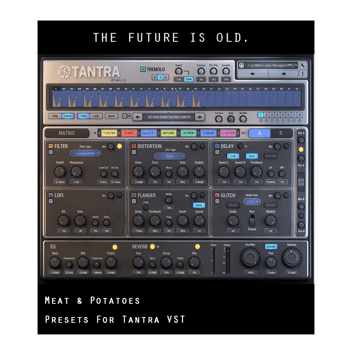 Meat and Potatoes Presets for Tantra VST