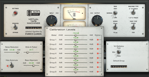 KVR: Virtual Tape Machines (VTM) by Slate Digital - Tape