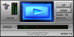 Illformed dBlue TapeStop Plugin |Tapestop Vst