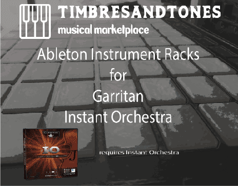 Ableton Instrument Racks for Garritan Instant Orchestra