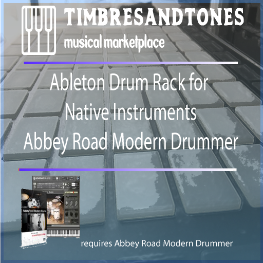 Ableton Drum Racks for Native Instruments Abbey Road Modern Drummer