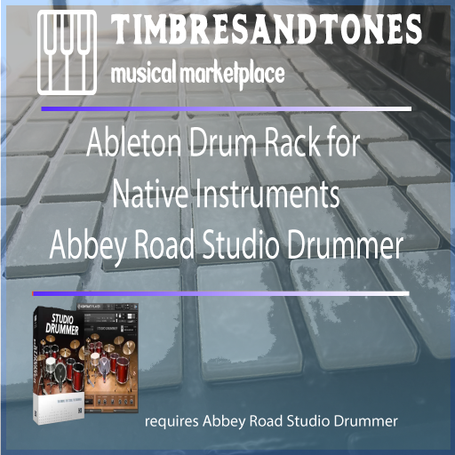 Ableton Drum Racks for Native Instruments Abbey Road Studio Drummer